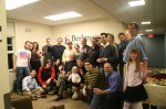 The Berkman Center crowd wishes Creative Commons a very happy 4th birthday!